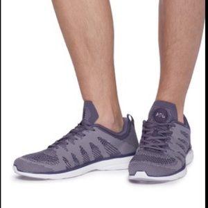 APL TECHLOOM PRO*Gray Sneakers**US 5.5, 10.5**$140